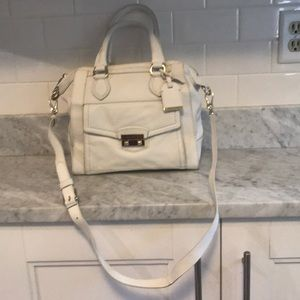 Cole Haan white purse
